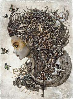 Soma by Christopher Lovell Art