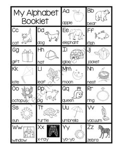 ABC Booklet (For Teaching The ABCs) from Pioneer Teacher on TeachersNotebook.com (27 pages)  - Teaching the ABCs one letter at a time using this packet...