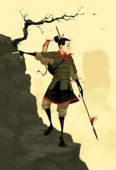 Mulan by PunchingPandas.deviantart.com on @DeviantArt