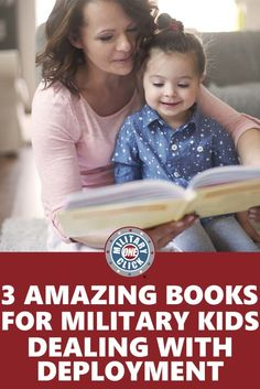 Books to help children deal with their emotions during their parent's deployment.