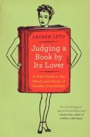 LINKcat Catalog › Details for: Judging a book by its lover :