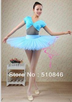 Zdarma nákupní / Nový Adult Professional baletu Tutu Hard Organdy Platter sukně Dance Dress 6color / balet Tutus