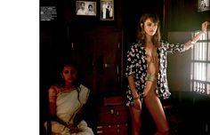 Daria Pleggenkuhle by Bharat Sikka for Marie Claire Italia July 2014