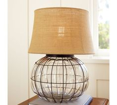 A Terrible Thing to Waste: Knock Off Pottery Barn Lamp... My gosh, I am so excited for this tutorial!!