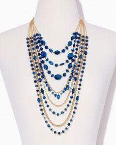 Deluxe Dazzle Necklace Set