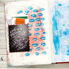 Heather Greenwood Blog   #ARTWORSHIP - Illustrated Faith Art Journaling Bible - adding in pockets