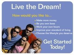 Work From Home. Contact Staci at kiddstaci@yahoo.com / www.goherbalife.com/staciannkidd