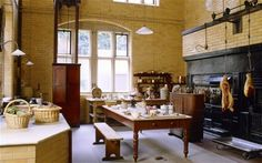 2. Cragside, Northumberland    Witness labour-saving gadgets for servants, such as early versions of a gas    stove and dishwasher, created by madcap Victorian inventor Lord Armstrong.