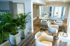Nicholas Graham Aveda Concept Salon Interior designed by Andrea Graham/project managed.