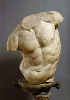 Hellenistic, Torso of a Satyr, c. 2nd century BCE