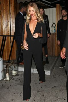 LA Girls Going Out Outfits Rosie Huntington Whiteley