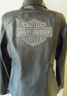 Harley Davidson Women's Cycle Diva Leather Jacket #HDnaughtylist