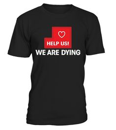 CHECK OUT OTHER AWESOME DESIGNS HERE!                 HELP US WE ARE DYING SHIRT | Support Puerto Rico TShirt   #prayforpuertorico Pray for Puerto Rico