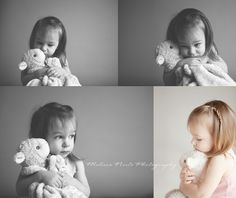 Toddler photo ideas (Could totally do this with Emmalynn & blankie)
