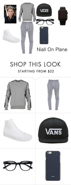 """Niall horan on Plane Chapter 2"" by courts-horan13 on Polyvore featuring Christian Dior, Fear of God, Converse, Vans, Valextra, Apple, men's fashion and menswear"