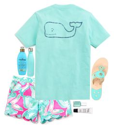 """""""♥︎ Finally fridaaaay ♥︎"""" by lucynew44 ❤ liked on Polyvore featuring Vineyard Vines, Jack Rogers, Essie, S'well, philosophy and Organix"""