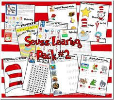 free dr. suess printables | Dr. Seuss {FREE} Preschool Printables. This is pack 2 ... | Dr. Seuss