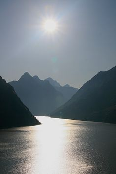 Lake Grimsel is an artificial lake near Grimsel pass in the Canton of Berne, Switzerland.