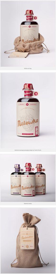Nalewka – alcoholic beverage packaging design by Foxtrot Studio.