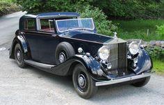 1937 Rolls-Royce PIII Gurney Nutting Sedanca de Ville 3BU162 For Sale