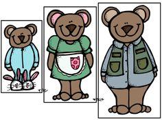Goldilocks & the 3 Bears Activities (from Preschool Wonders)