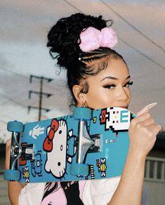 tadiorx 🌟 Saweetie Icy Grl, Icy Girl, Fille Gangsta, Swag Girl Style, Stylist Tattoos, Hello Kitty, Black Girl Aesthetic, Doja Cat, Poses