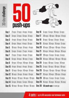 Desafio 50 flexões