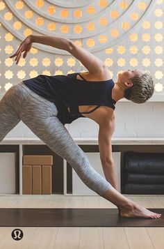 Create space, in mind and body.