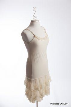 – Peekaboo-Chic | Lavish Layering Clothing for Women | Skirt Extenders-Slip Extenders-Lace Skirts