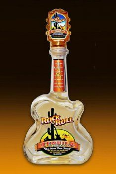 Rock N Roll Tequila Blanco. This tequila #packaging caught my eye. PD #tequilatuesday