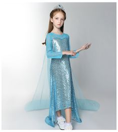 DISNEY STORE FROZEN SILVER KNIT DRESS FOR GIRLS NWT ~ NICE STYLE /& DETAIL