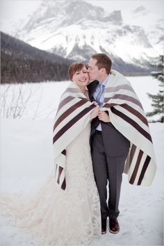 snow wedding ideas #brideandgroom #weddingphotography #weddingchicks http://www.weddingchicks.com/2014/03/06/whimsical-winter-wedding/