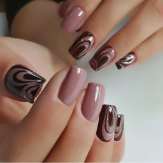 25 Most Favorite Square Nail Designs for Teenager - Saggno Glam Nails, Pink Nails, Toe Nails, Beauty Nails, Beautiful Nail Art, Gorgeous Nails, Perfect Nails, Beautiful Pictures, Fancy Nail Art