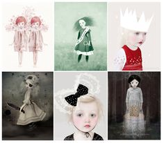 Love these soulful pieces from Art and Ghosts