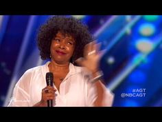 Ronee: 62-Year-Old Singer Recovers After Tough First Audition - America's Got Talent 2016 Auditions - YouTube