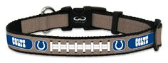 Indianapolis Colts Reflective Toy Football Collar