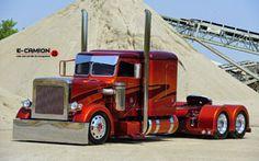 Custom Peterbilt Show Trucks Big Rig Trucks, Show Trucks, Lifted Trucks, Pickup Trucks, Peterbilt Dump Trucks, Custom Peterbilt, Peterbilt 379, Custom Big Rigs, Custom Trucks