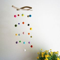 Colorful Baby Mobile — Decohubs