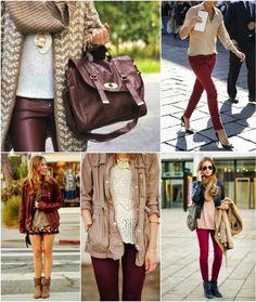 Envision Pretty: Color Crush: Cranberry & Camel