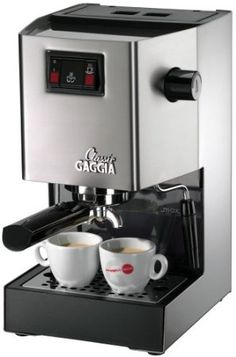 Amazon.com: Gaggia 14101 Classic Espresso Machine, Brushed Stainless Steel: Kitchen & Dining