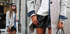 Lagen-Look stylen: Nicht zu viele Schichten!