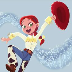 Jessie (Toy Story (c) Pixar Animation Studios & Walt Disney Studios Disney Pixar, Arte Disney, Disney Toys, Disney And Dreamworks, Disney Animation, Disney Magic, Pixar Movies, Disney Movies, Disney Characters