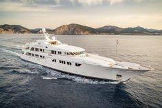 The classically beautiful m/y Callisto.  #TJB #SuperYachts #RemarkableExperiences