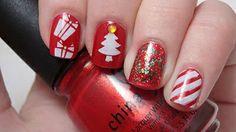 Life and Polish Christmas nails