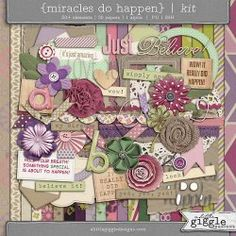 {Miracles Do Happen} Kit | A Little Giggle Designs