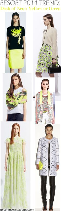 Spry On The Wall: Resort 2014 Trends - Color