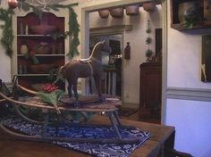 Colonial Primitive Decorated Homes | Decorating In The Primitive Colonial Style