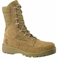 Belleville - Hot Weather Olive Green Safety Toe Boot- The Seabee's boot Marine Boots, Steel Boots, Us Marine Corps, Military Desert Boots, Belleville Boots, Army Shoes, Safety Toe Boots, Man Style, Boots