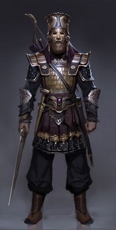Fantasy Armor, Medieval Fantasy, Dark Fantasy, Arte Assassins Creed, Assassins Creed Odyssey, Dnd Characters, Fantasy Characters, Fantasy Character Design, Character Art