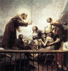 Goya the miracle of st antony ermita de san antonio de la florida